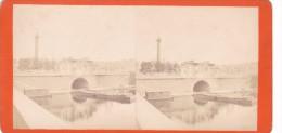 Commune De Paris 1871 Semaine Sanglante Siege De Paris Place De La Concorde Mitaillée - Stereo-Photographie