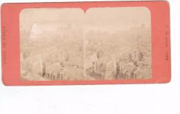 Commune De Paris 1871 Semaine Sanglante Siege De Paris Panorama De Paris Incendié - Stereo-Photographie