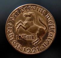 ALLEMAGNE , Westfalen, , 10  MARK  1921  HAUTE QUALITE - [ 3] 1918-1933 : Repubblica Di Weimar