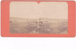 Commune De Paris 1871 Semaine Sanglante Siege De Paris Le Pont D Auteuil - Stereo-Photographie
