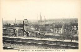 - Hauts De Seine -ref 639 - Suresnes - La Passerelle Et Panorama De La Ville - Ligne De Chemin De Fer - - Sevres