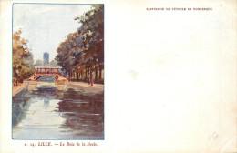 59  LILLE  Le Bois De La Deule Cp Pub Raffinerie De Pétrole De Dunkerque    2 Scans - Lille