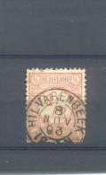 Kleinrond Hilvarenbeek Op Nvph 30 - Periode 1852-1890 (Willem III)