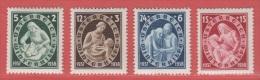 1937  ** (sans Charn., MNH, Postfrish)  Yv  499/02    Mi  642/5    ANK 642/5 - Ungebraucht
