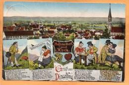 Gruss Aus Dingolfing Old Postcard - Dingolfing