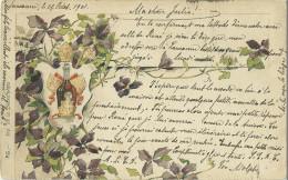 Theme Publicité Benedictine Alcool Fleurs - Publicité