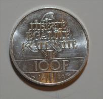 100 Francs Liberté Argent - N. 100 Francs