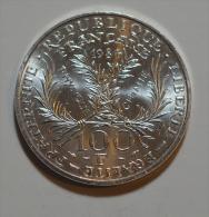 100 Francs Marie Curie Argent - France
