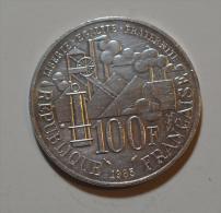 100 Francs Emile Zola Argent - N. 100 Francs