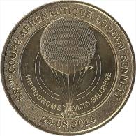 2014 - VICHY - 58ème Coupe Aéronautique Gordon Bennett / MONNAIE DE PARIS - Monnaie De Paris