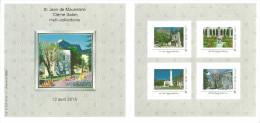 Carnet 4 TimbraMoi Saint Jean De Maurienne Tour Cloître Monument Aux Morts Théâtre Clocher Cathédrale - Personalized Stamps (MonTimbraMoi)