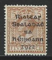Ireland SG 7, Mi 6 * MH - 1922-37 Stato Libero D'Irlanda