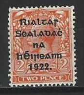 Ireland SG 13, Mi 15 I / II * MH - 1922-37 Stato Libero D'Irlanda