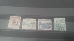 LOT 259000 TIMBRE DE FRANCE OBLITERE N�162 A 165