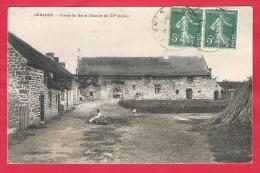 56-Arradon-Ferme De Kerad(manoir Du XV é Siecle)-cpa écrite190? - Arradon