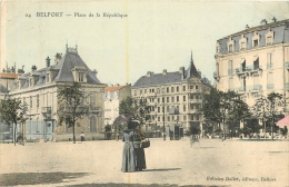 BELFORT PLACE DE LA REPUBLIQUE - Belfort - Città