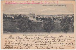 25050g  MONDORF - Panorama - 1900 - Mondorf-les-Bains