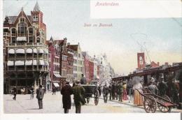 AMSTERDAM 450 DAM EN DAMRAK (TRAMWAY) - Amsterdam