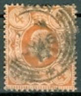 Grossbritannien 1909 4 P. Gest. König Edward VII. - 1902-1951 (Re)