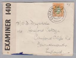 Irland 1941-05-16 CLUAIN EOIS Zensur Brief Nach England - 1937-1949 Éire