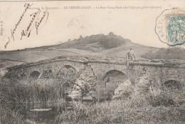 OUTREMECOURT - ENVIRONS DE BOURMONT - LE PONT CINQ-PARTS - EPOQUE GALLO-ROMAINE - BELLE CARTE AVEC PETITE ANIMATION -TOP - Francia