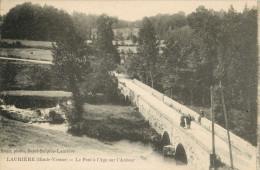 87 LAURIERE - LE PONT A L AGE SUR L ARDOUR - Lauriere