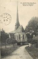 18 ST / SAINT PALAIS - ROUTE DE QUANTILLY - ABSIDE DE L EGLISE - France
