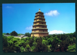 CHINA  -  Xian  Dayan Pagoda  Unused Postcard As Scan - China