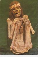CPSM PEROU MOMIE MOMIA HUMBRE MUSEE  MUSEO DE ICA PERU CULTURE NAZCA