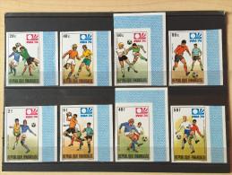 Rwanda - 578/585 - Non dentel� - Imperforated - World Cup 1974 Munich - MNH
