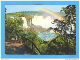 CARTE POSTALE POSTAL POSTCARD BRAZIL BRASIL BRÉSIL PARANÁ FOZ DO IGUAÇU GARGANTA DO DIABO 1970s - Curitiba