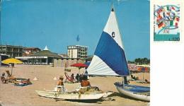 TORTORETO LIDO  TERAMO  La Spiaggia  Barca A Vela  Pattino - Teramo