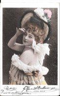 [DC4540] CARTOLINA - DONNA - ANNA HELD - ATTRICE - CANTANTE - SPETTACOLO - Viaggiata - Old Postcard - Spettacolo