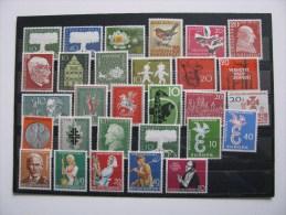 Bund-1957-1958-aus Mi.268-301 postfr.Mi.49 Euro.Siehe Abbildung