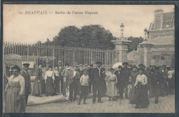 - CPA 60 - Beauvais, Sortie De L'usine Dupont - Beauvais