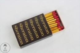 Vintage Advertising Matchbox - Sheraton - Cajas De Cerillas (fósforos)