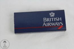 Vintage Advertising Matchbox - British Airways & Wilkinson Sword Blades - Cajas De Cerillas (fósforos)
