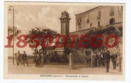 CONTURSI - MONUMENTO AI CADUTI F/PICCOLO  VIAGGIATA  BELLA ANIMAZIONE - Salerno