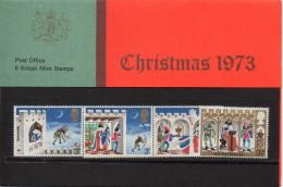 GREAT BRITAIN 1973 Christmas Presentation Pack - Presentation Packs