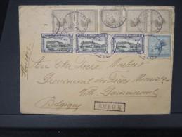 CONGO BELGE- Enveloppe De Stanleyville  Pour La Belgique En 1931 Par Avion ( Semble Manquer Un Timbre)  A Voir   P5017