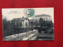 REPUBBLICA CECA -VAL.MEZIRICI - GUMNASIUM A ODBORNE' SKOLY - 1908 ANNULLO BUCOVICE BUTSCHOWITZ - Repubblica Ceca
