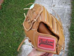Ancien Gant De Baseball  JACKSON  TAILLE 11 INCH  Us - Kleding, Souvenirs & Andere