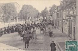 CPA - CHATEAUROUX - Le Marché Des Tabacs, Route De La Châtre. - Chateauroux