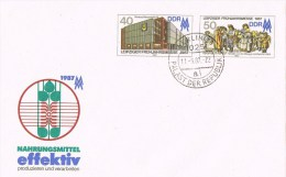 12886. Entero Postal BERLIN (alemania DDR) 1987. Fechador Palast Der Republik - [6] República Democrática