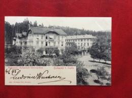 REPUBBLICA CECA -KALTWASSER - HEILANSTALT - THERESIENBAD - ANNULLO : TRNOWAN - TRNAVANY - 1903 - Repubblica Ceca