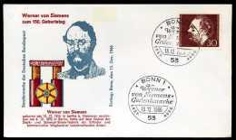 34635) BRD - Michel 528 - FDC - Werner Von Siemens - [7] Federal Republic
