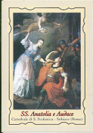 SS. ANATOLIA E AUDACE - SUBIACO (RM) -  Mm. 80X115 - SANTINO MODERNO - Religion &  Esoterik