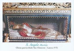 S. ANGELO M. - LATERA (VT) -  Mm. 80X115 - SANTINO MODERNO - Religione & Esoterismo