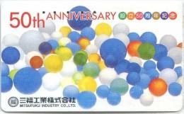 Telefonkarte Japan -  Werbung - Mitsufuku Industry   - 110-016 - Japan