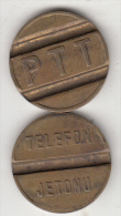 TURKEY - PTT Telephone Coin, Used - Tokens & Medals